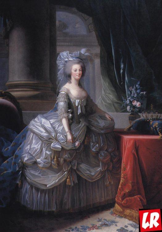 Мария-Антуанетта, юбка