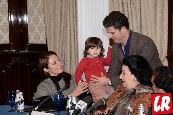 Кабалье, интервью, семья