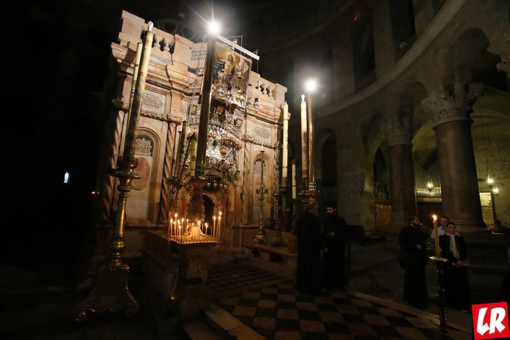 Храм Гроба Господня – Голгофа и Кувуклия в проекте Паломники
