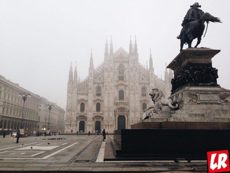Милан, утро, Дуомо, как сделать фото