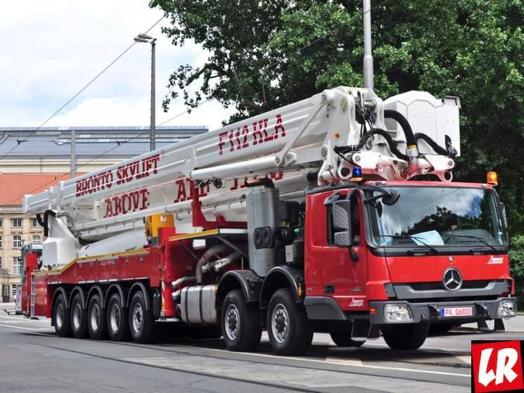 фишки дня - 8 апреля, день пожарной лестницы, самая высокая пожарная лестница