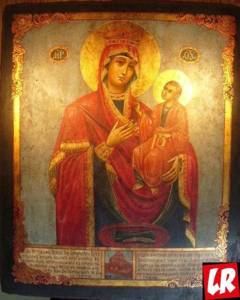 Китаевский монастырь, Китаево, Икона Божией Матери Закланная