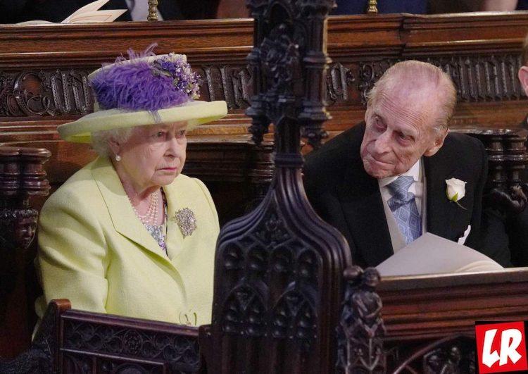 Елизавета вторая, свадьба принца Гарри, Виндзор