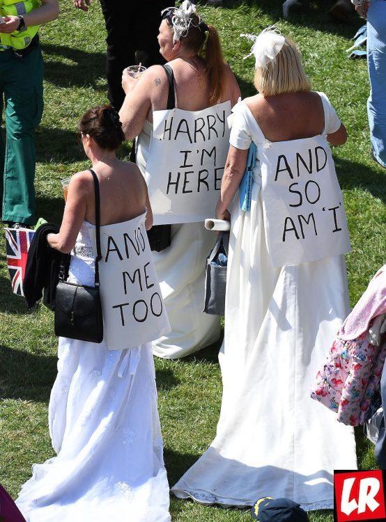 Свадьба принца Гарри, фанаты