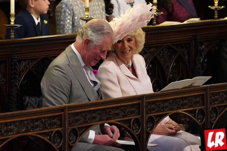 свадьба принца Гарри, Чарльз и Камилла