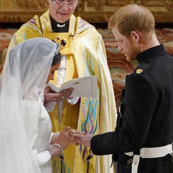 свадьба принца Чарльза, Великобритания, Виндзор, королевская свадьба, обмен кольцами