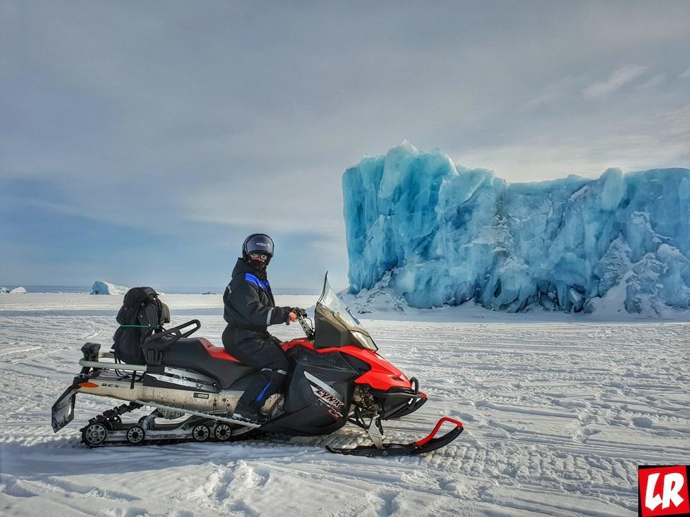 Арктика, покорение горы Ньютон,