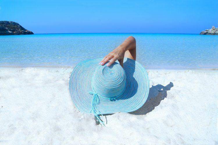 пляж, SPF, загар, море