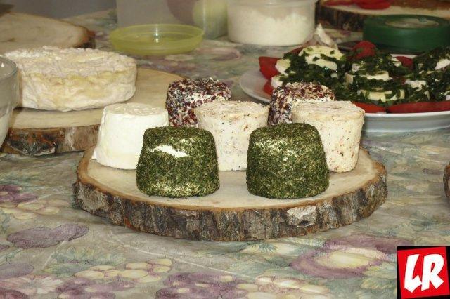 Козий сыр - секреты фермеров Украины.  Полезные конфеты и сыр с виски