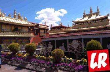 Лхаса, монастырь Джоканг, Тибет