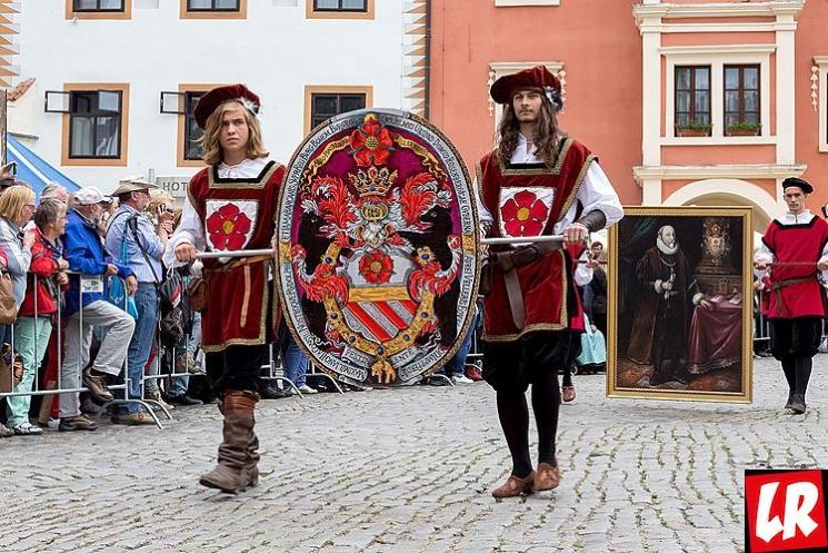 фишки дня - 22 июня, Чески Крумлов, праздник пятилепестковой розы