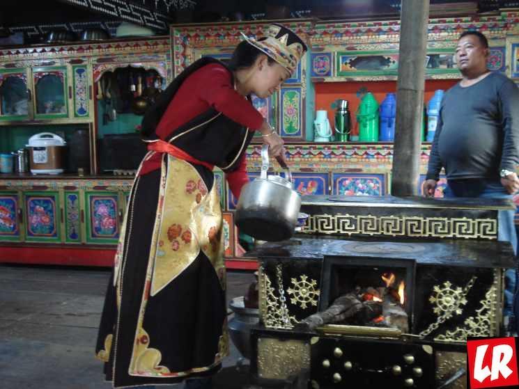 Тибет, Лулан