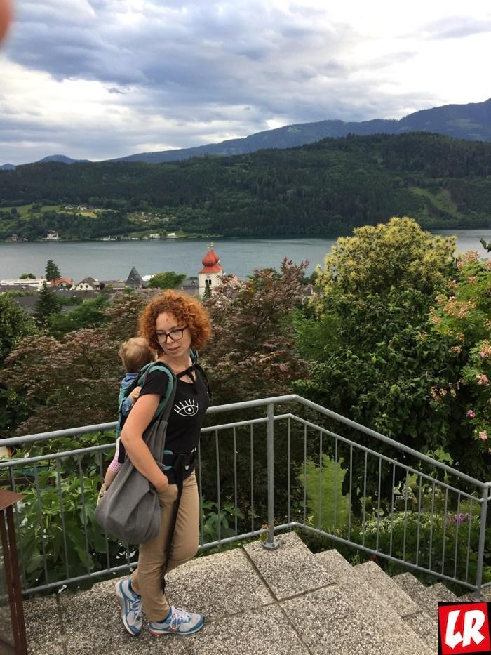 Австрия, жизнь в Австрии, ребенок, панорама