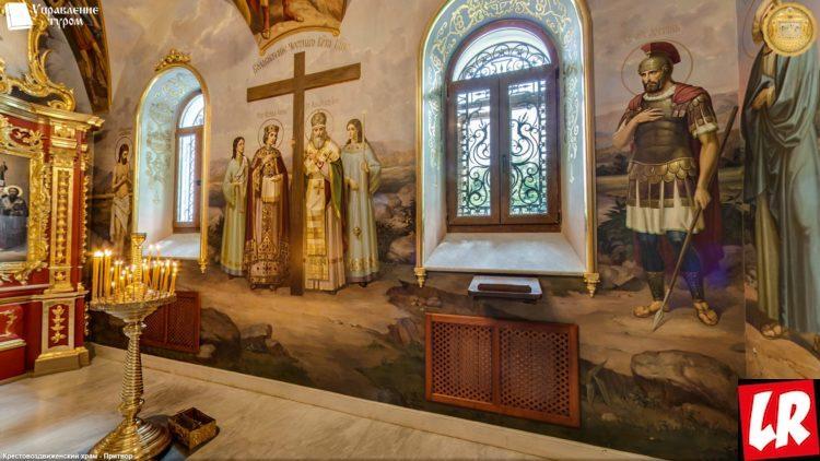 Киево-Печерская лавра, Крестовоздвиженский храм