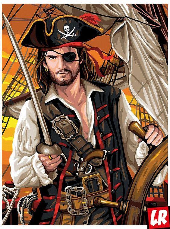 пират, повязка на глаз, Ночные снайперы, люди ночных профессий, пираты