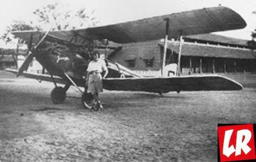 Эми Джонсон, самолет, Женские истории