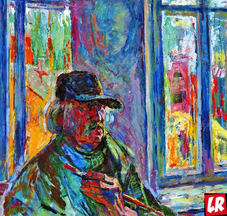автопортрет, Василий Забашта, художник, живопись, Украина, колорит