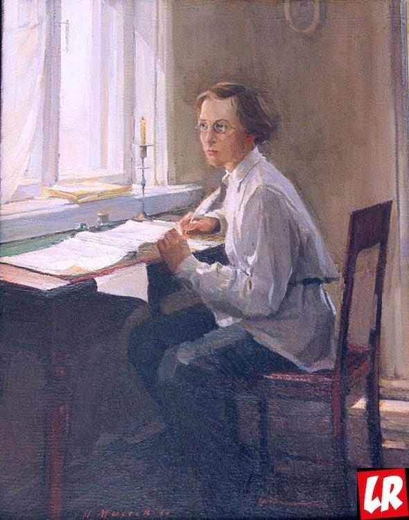 Чернышевский, портрет, юный писатель