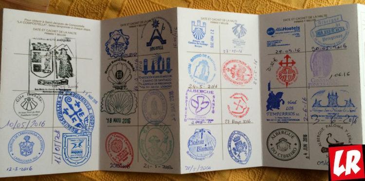 Сантьяго-де-Компостела, путь Камино, Камино де Сантьяго, паспорт паломника — Credencial