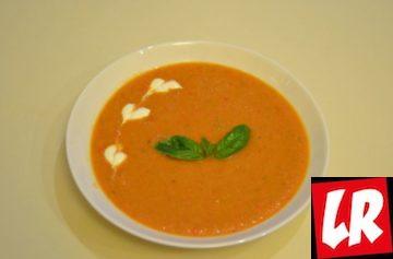 Традиционный испанский суп, гаспачо