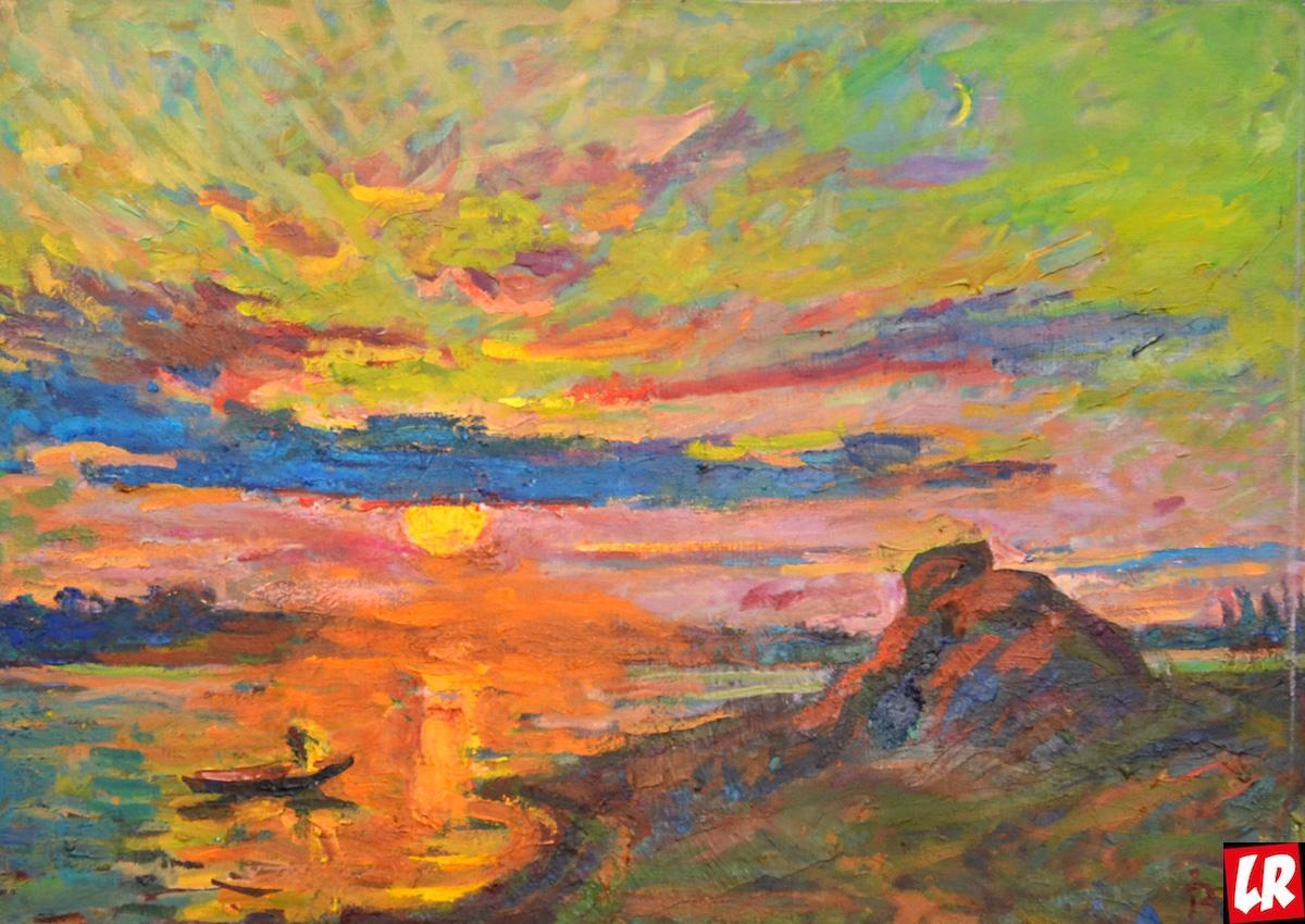 Великий художник вернул Украине запретный пейзаж и лечит картинами