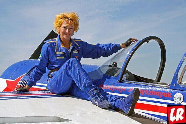 Тамара Довгаленко, пилот