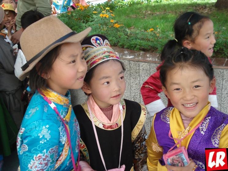 Тибет, тибетцы, Путешествие в Тибет, дети