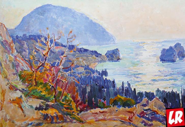 Аю-даг, Крым, пейзаж, Василий Забашта, художник, живопись, Украина