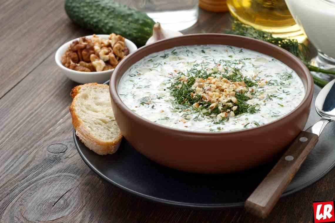 Рецепт дня – болгарский суп таратор за 15 минут