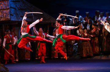 Запорожец за Дунаем, опера в сентябре, национальная опера Украины, Киев, афиша