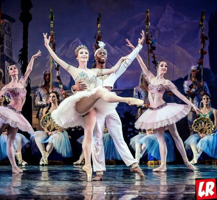 Киев, Баядерка, Национальная опера Украины, Бруклин Мак, звезда балета, балет, лучший танцор