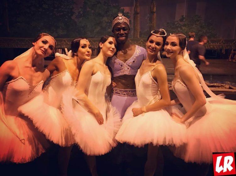 Звезда балета, Баядерка - премьера балета в Киеве, за кулисами, театр, Мак Бруклин