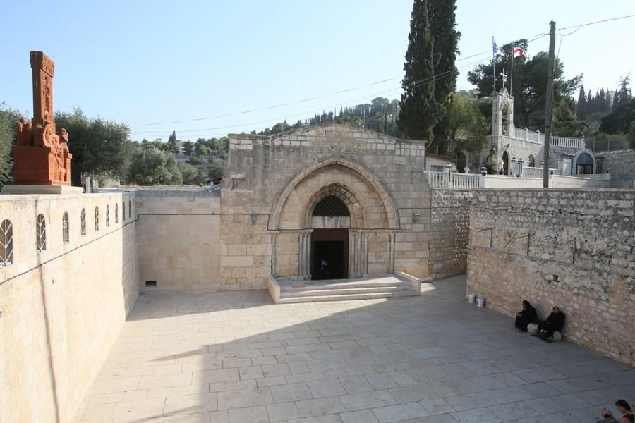 Успение Богородицы, храм Успения Богородицы в Гефсимании