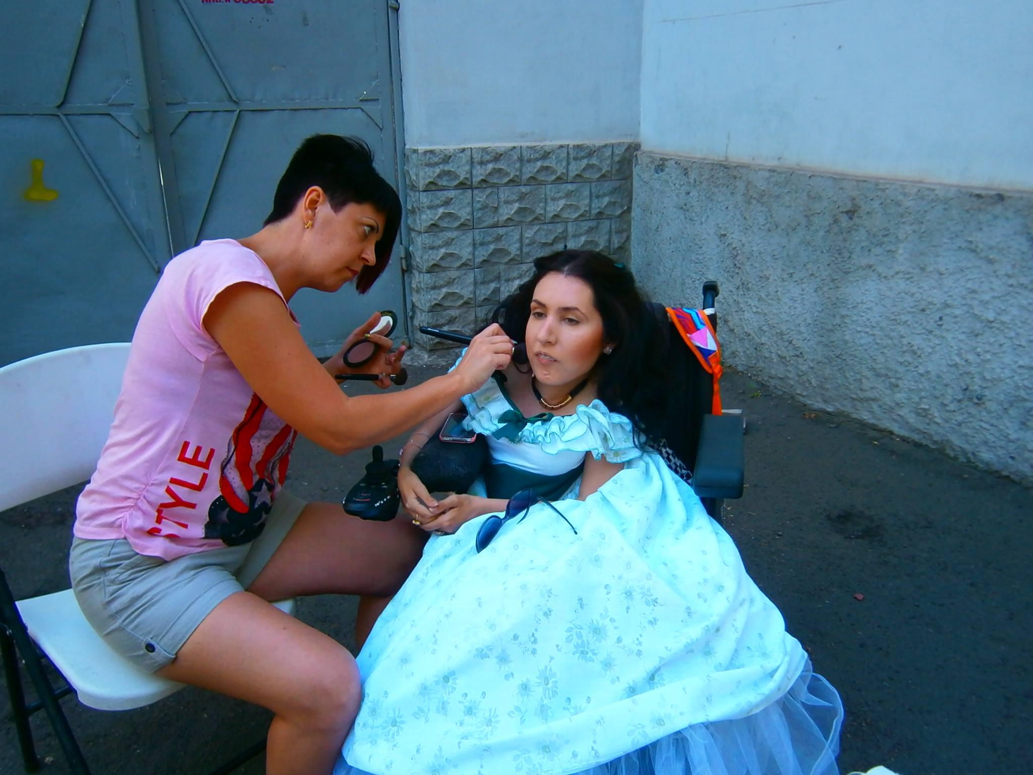 Театр равных возможностей, инклюзивный театр в Запорожье