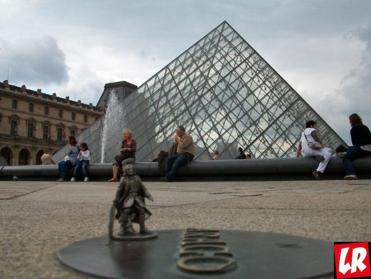 Араго, Париж, Лувр