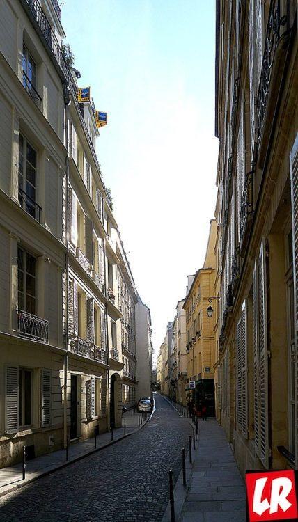 Rue Servandoni, Париж, мушкетеры
