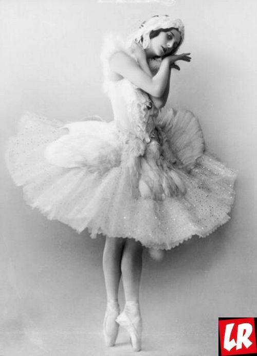 балерина, Анна Павлова, торт Павлова