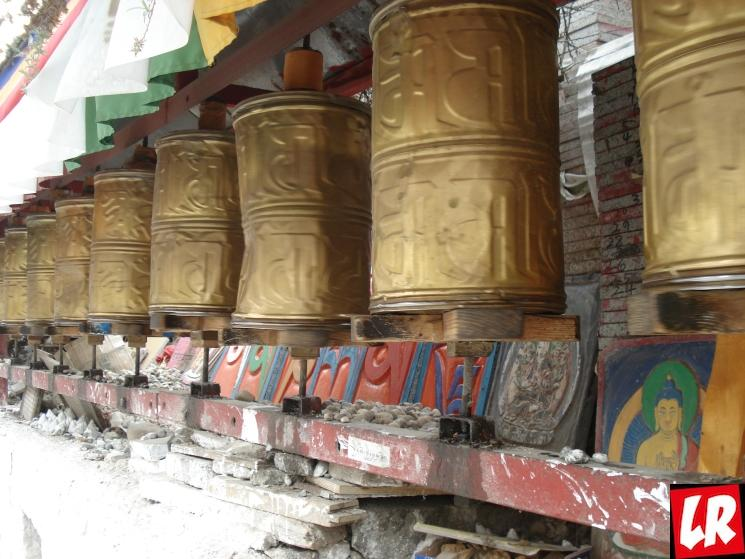 молитвенные барабаны, Тибет, буддизм