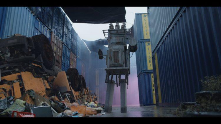 """VFX, визуальные эффекты, фильм """"Бобот"""""""