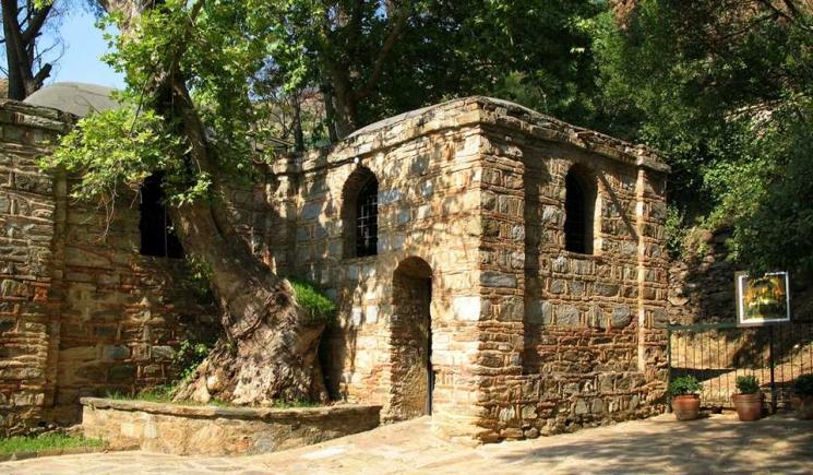 фишки дня - 28 августа, Успение Пресвятой Богородицы, домик Богородицы в Эфесе