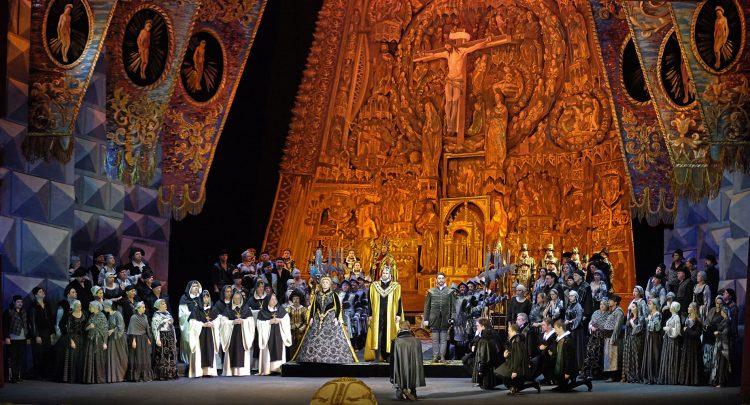 Дон Карлос, опера в сентябре, Киев, афиша