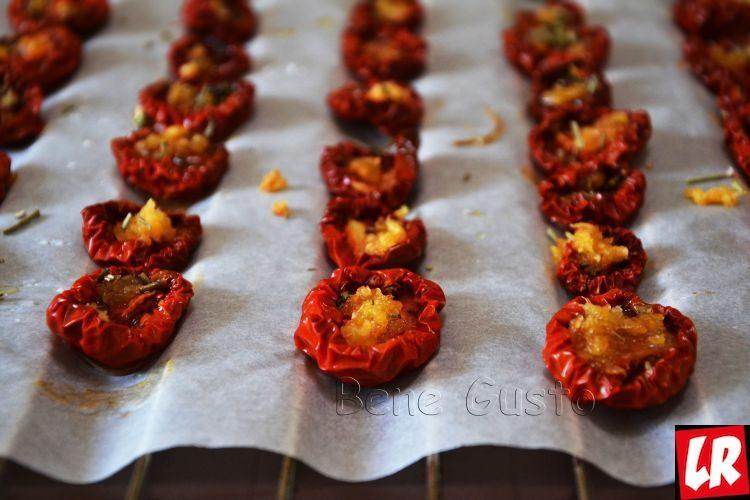 Вяленые помидоры, рецепт дня