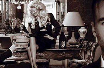 История шампанского, Дом Периньон, Клаудиа Шиффер