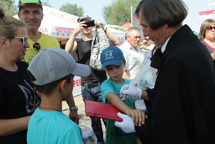 Сорочинская ярмарка 2018, Гоголь на ярмарке