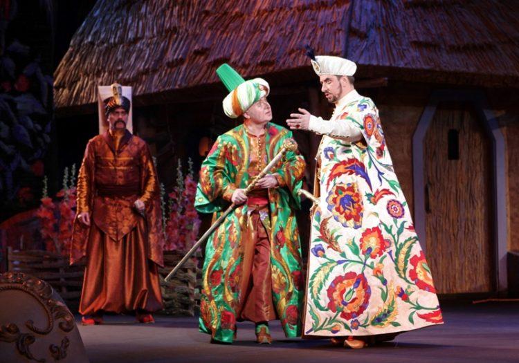 Запорожец за Дунаем, опера в сентябре, национальная опера Украины, Киев, афиша, спектакль