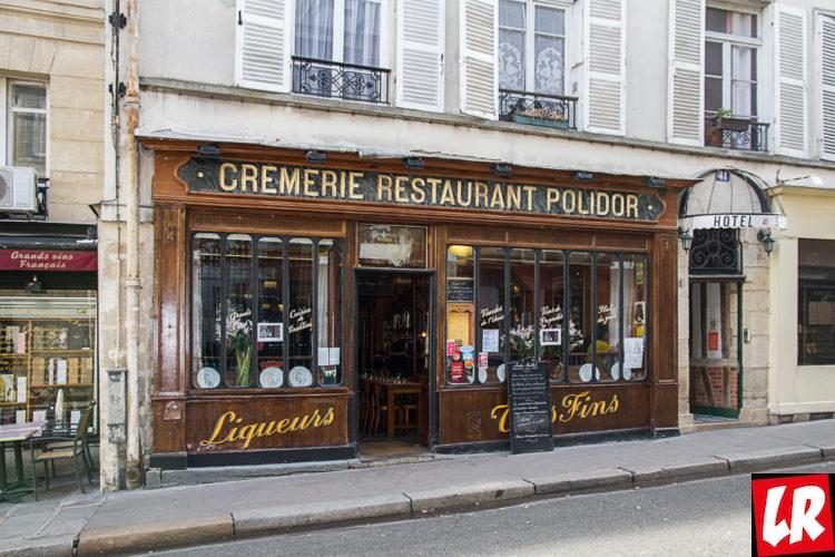 кафе, Polidor, rue Monsieur-le-Prince
