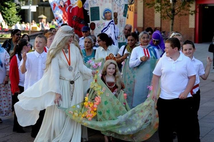 фишки дня - 31 августа, Фестиваль леди Годивы Ковентри