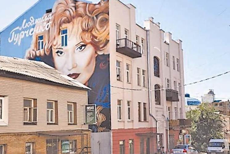 фишки дня - 23 августа, День Харькова, мурал Людмила Гурченко
