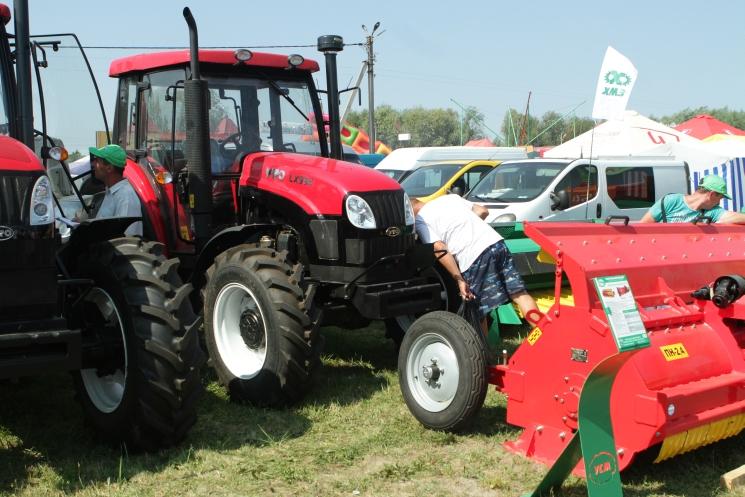 Сорочинская ярмарка 2018, сельхозтехника