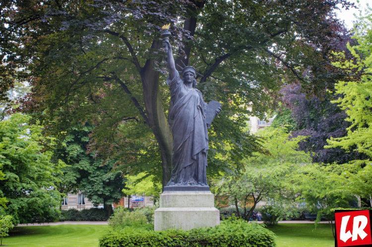 Латинский квартал, статуя свободы, Люксембургский сад